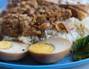 braised pork rice