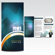 Abstract background, brochure design