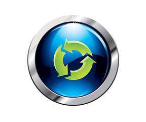 Botón reciclaje
