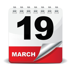 19 MARCH ICON