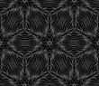 Seamless monochrome pattern 12
