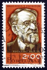 Postage stamp Portugal 1966 Ricardo Jorge, Hygienist