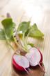 product from the garden, fresh radish