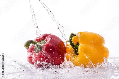 Fototapeten,pfeffer,pepperoni,rot,gelb