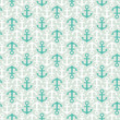 Seamless stylish summer pattern with anchors