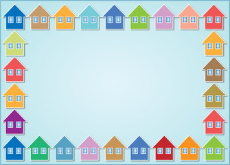 houses frame