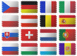 Mozaic national flags