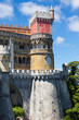 Pena National Palace in Sintra, Portugal. UNESCO whs
