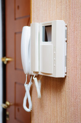 Security intercom speaker