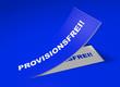 3D Etikett Blau - Provisionsfrei!