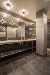 Woodland hotel - bathroom interior