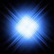 Diagonal Blue And White Rays O...