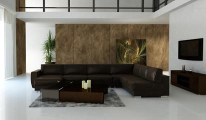 Wohnzimmer mit Galleria
