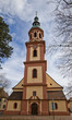 Holy Cross church (circa XVII c.). Offenburg, Germany