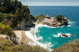 McWay Falls at Julia Pfeiffer Burns State Park, Big Sur,
