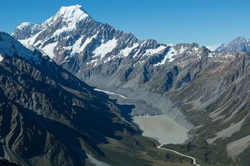 Mount Cook Massiv mit Gletscher
