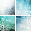 Grungy blue backgrounds