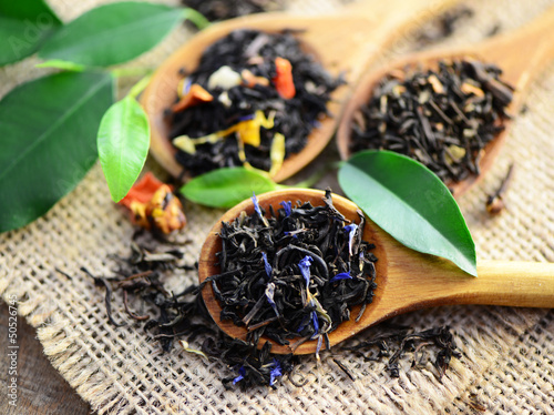 Blätter, Tee