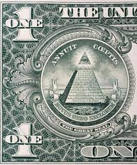 Pyramid on One Dollar