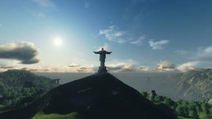 Christ the Reedemer timelapse, Rio de Janeiro, Brazil