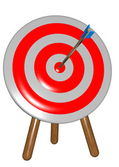 CENTRING THE TARGET - 3D