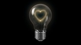 Heart Shape Bulb with Alpha Channel