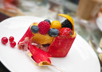 Fruit Compote Dessert