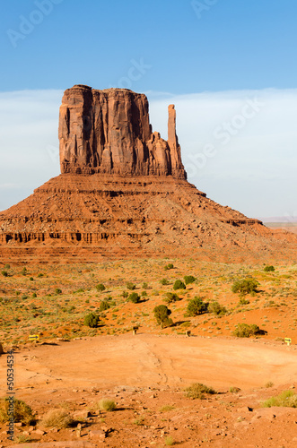 Monument Valley in Utah negli Stati Uniti d'America
