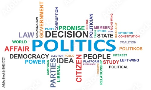 word cloud - politics