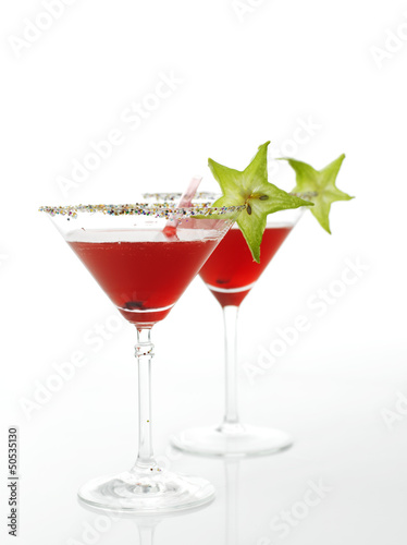 Cosmopolitan cocktail drink