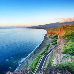 Côte de La Réunion.