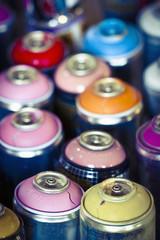 Bombes peinture graff