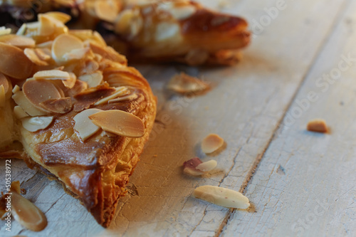 Almond berry pinwheel