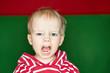 Kind ist wütend und am Schreien