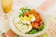 salad as example of healthy diet meal