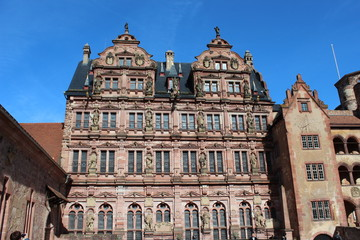 Heidelberger Schloss – Friedrichsbau