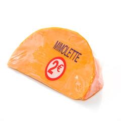 Portion de Mimolette