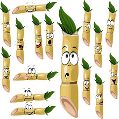 sugarcane cartoon