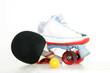 Rollschuh und Tischtennis