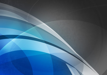 blue grey line graphics