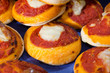 pizzette pomodoro e mozzarella