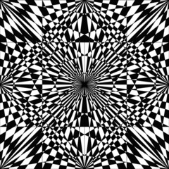 vector black and white abstract art