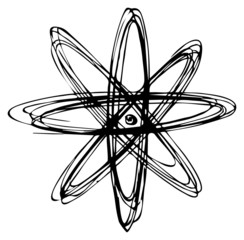Umlaufbahn, Teilchen