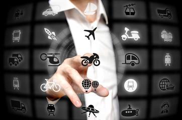 Transport services offered at a finger tip