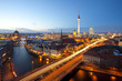 canvas print picture - Berlin Panorama
