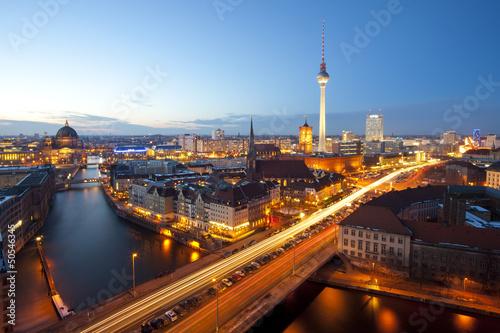 Foto op Canvas Berlijn Berlin Panorama