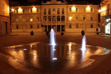 Fontana di notte
