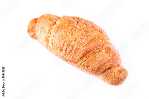 Fresh and tasty French croissant