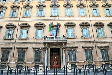Roma, Palazzo Madama - Senato della Repubblica