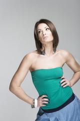Fotomodell Pose